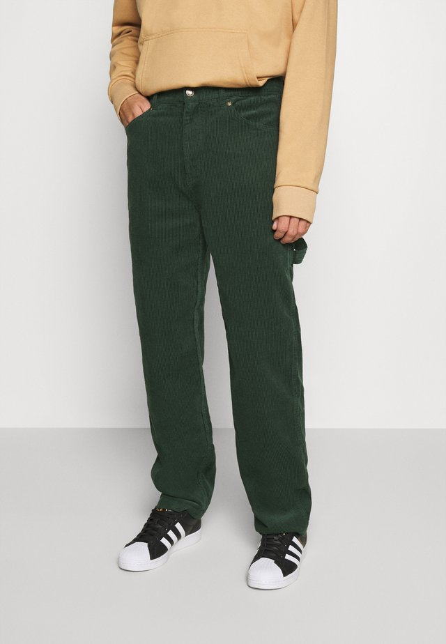PANTS - Tygbyxor - green