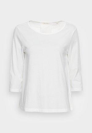 SLEEVE - Top sdlouhým rukávem - cotton white