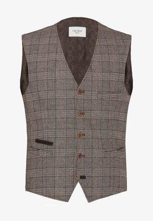CG WILSON - Suit waistcoat - braun