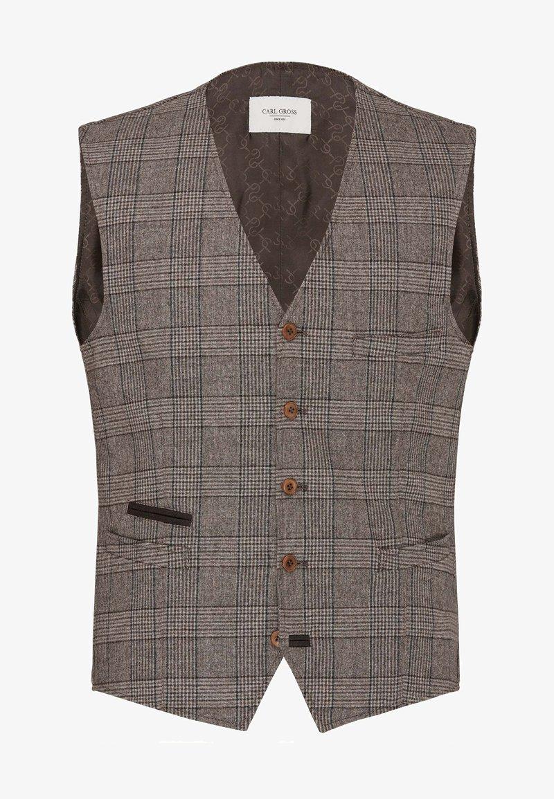 Carl Gross - CG WILSON - Suit waistcoat - braun