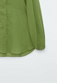 Massimo Dutti - Skjortebluser - evergreen - 2