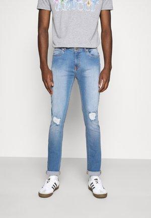 XYLA - Slim fit jeans - light blue