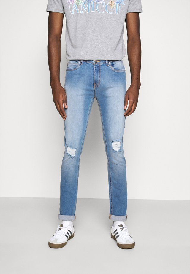 XYLA - Jeans slim fit - light blue