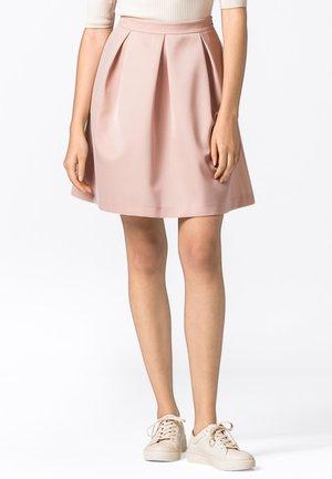 A-line skirt - zartrosa