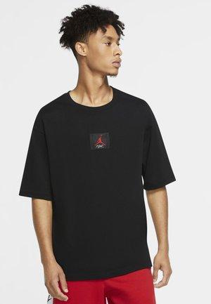 FLIGHT  - Print T-shirt - black