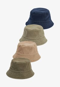 Next - REVERSIBLE BUCKET TWO PACK - Hat - green - 0