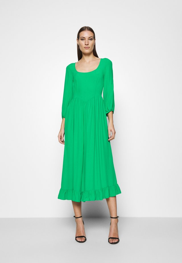 CAMEO DRESS - Maxi-jurk - green