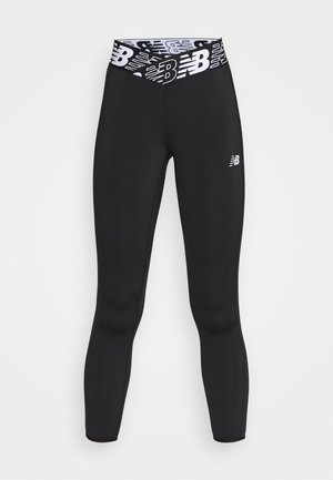 RELENTLESS HIGH RISE 7/8 - Legginsy - black