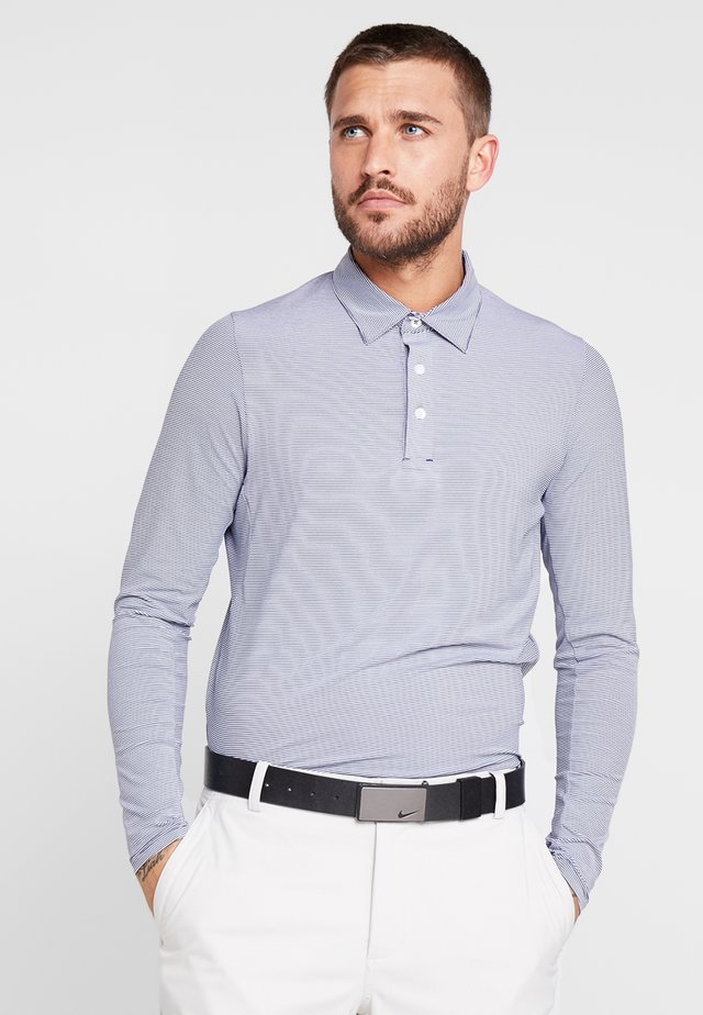 MEN SOREN - Polo - blue/white