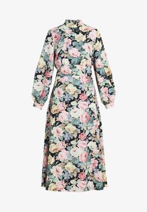 Denní šaty - nero/rosa
