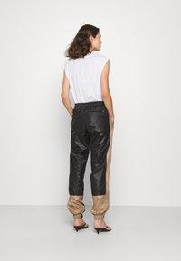 H2O Fagerholt - ALWAYS TRACK PANTS - Tracksuit bottoms - black - 0