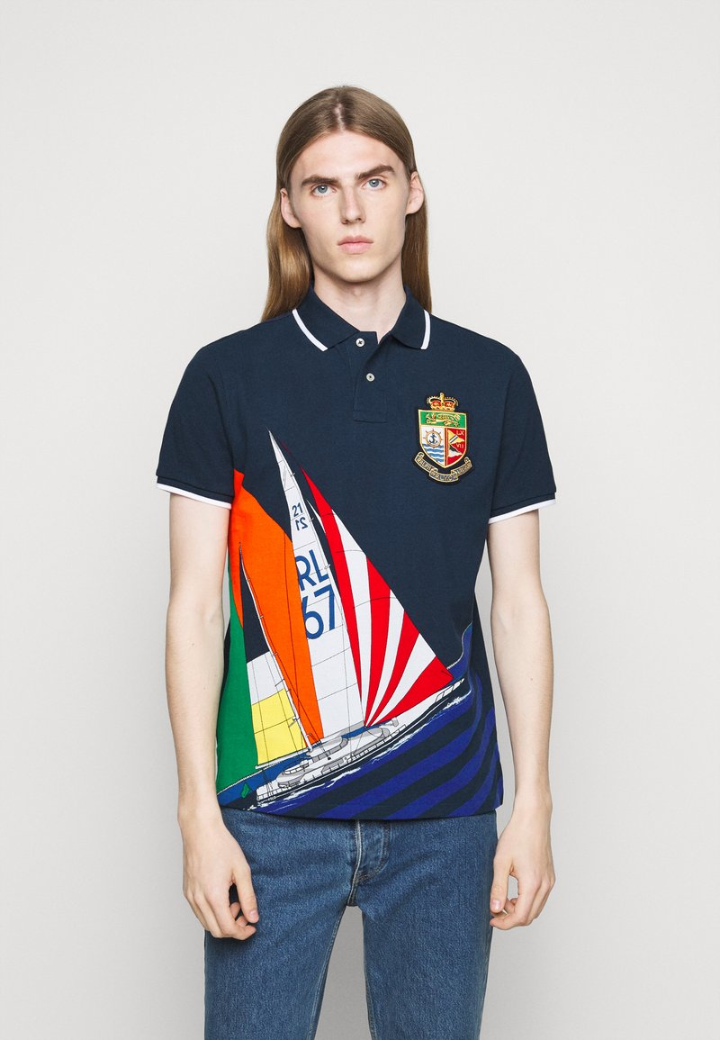 Polo Ralph Lauren - Pikeepaita - colorblock sail