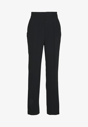 MANHATTAN STYLE PANTS - Trousers - black