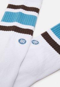 Stance - BOYD - Socks - white/brown - 1