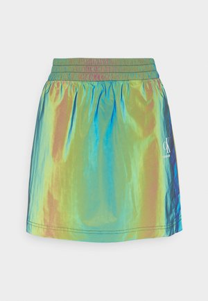 REFLECTIVE MINI SKIRT - Minijupe - multi-coloured
