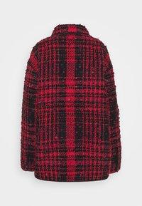 N°21 - Summer jacket - fantasia base rosso/nero - 1