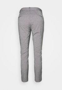 Banana Republic - MODERN SLOAN TEXTURE PANT - Kalhoty - dark grey - 1