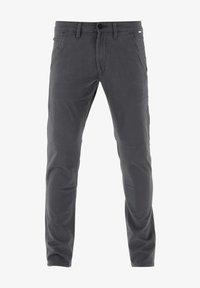Reell - FLEX TAPERED CHINO - Trousers - dark grey - 4