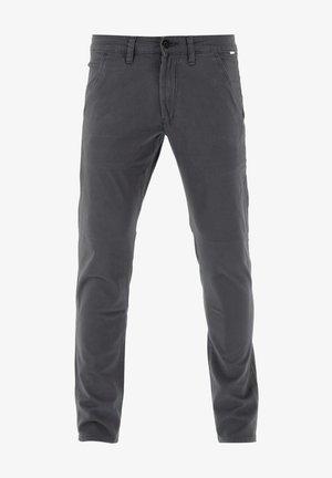 FLEX TAPERED CHINO - Trousers - dark grey