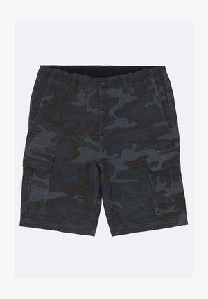 SCHEME SUBMERSIBLE SHORTS - Shorts - charcoal camo