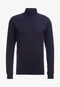 Only & Sons - ONSESSAY ROLLNECK TEE - Long sleeved top - night sky - 4