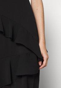 New Look Petite - YORU FRONT FRILL MIDI - Cocktail dress / Party dress - black - 5