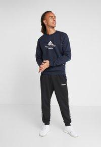 adidas Performance - CREW - Sweatshirt - dark blue - 1