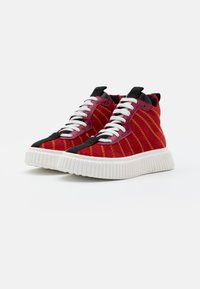 Marni - High-top trainers - red - 1