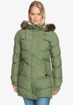 ELLIE PLUS - Winter jacket - bronze green