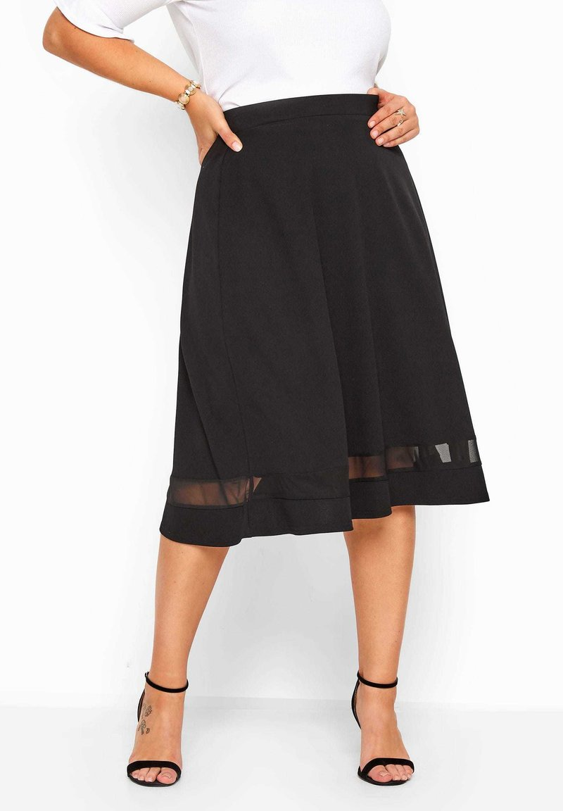 Yours Clothing - A-line skirt - black