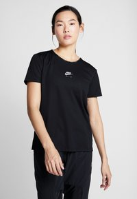 Nike Performance - AIR TOP - Triko spotiskem - black - 0