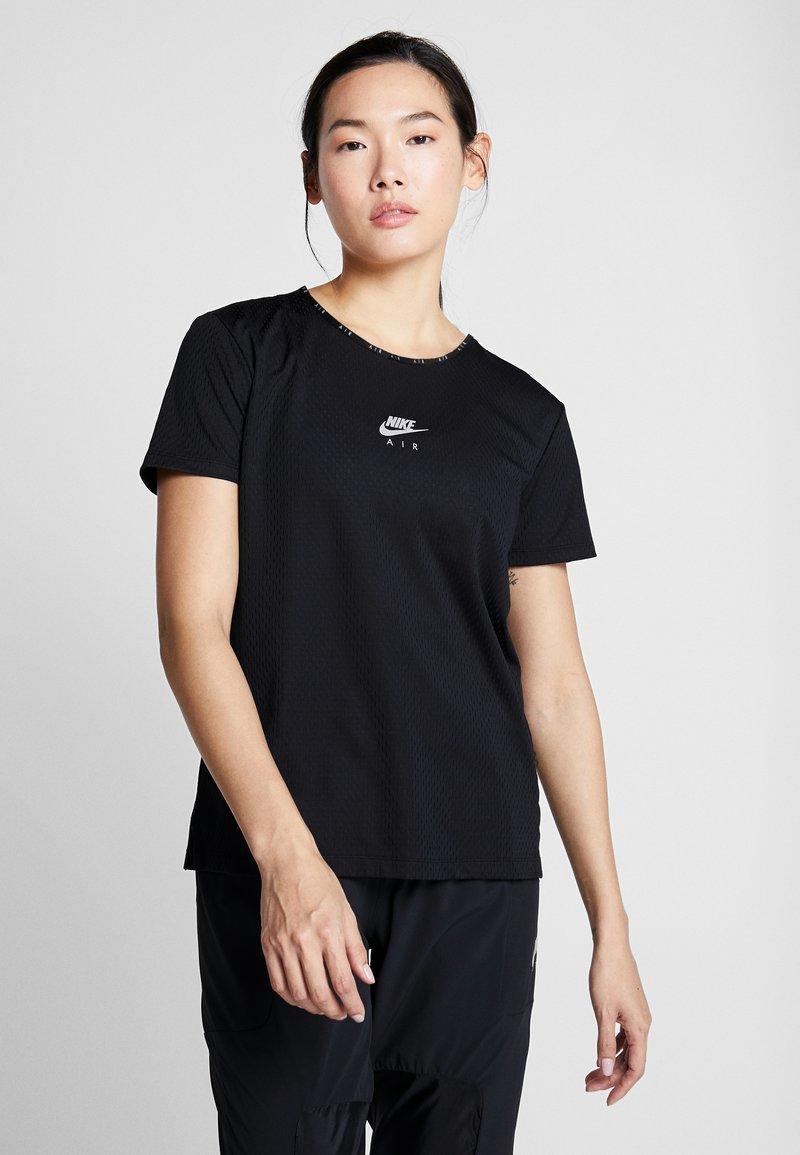 Nike Performance - AIR TOP - Triko spotiskem - black