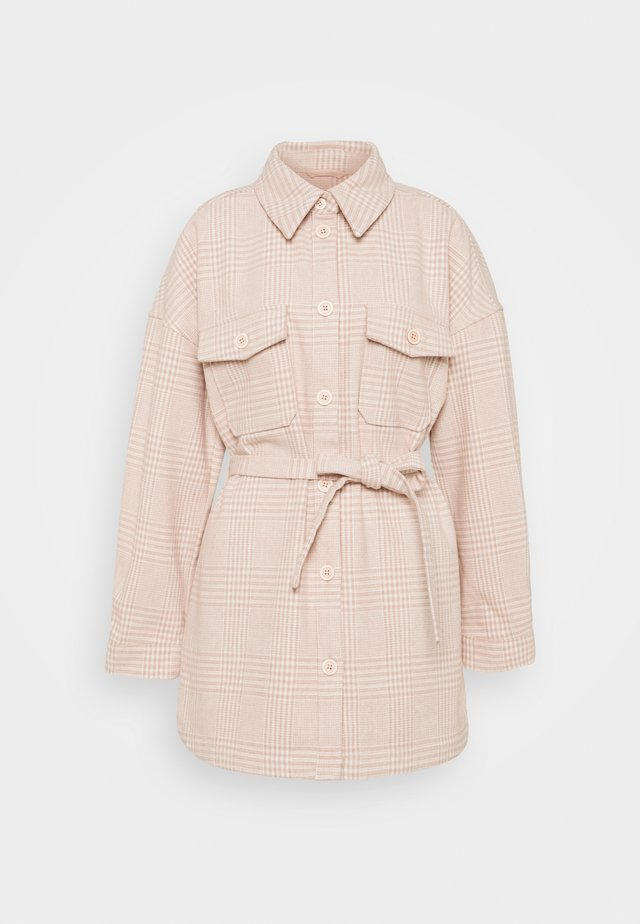 PCGWYNETH JACKET - Short coat - rose cloud
