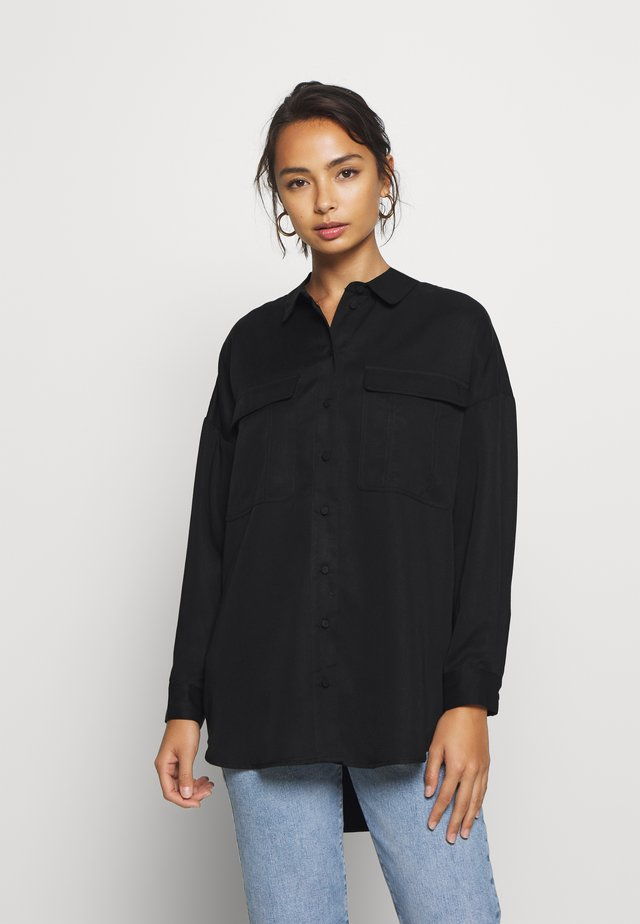 SLFMIRANDA LONG - Camicia - black