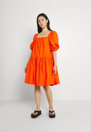 RONJA DRESS - Day dress - orangeade