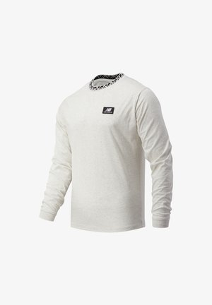 ATHLETICS TERRAIN - Long sleeved top - sea salt heather