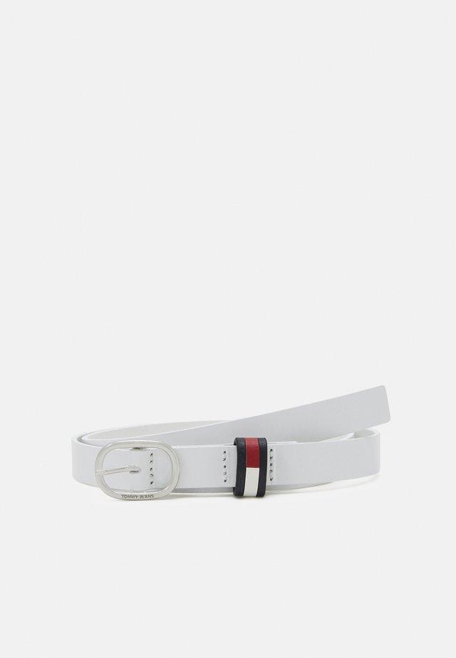 OVAL BELT - Pásek - white