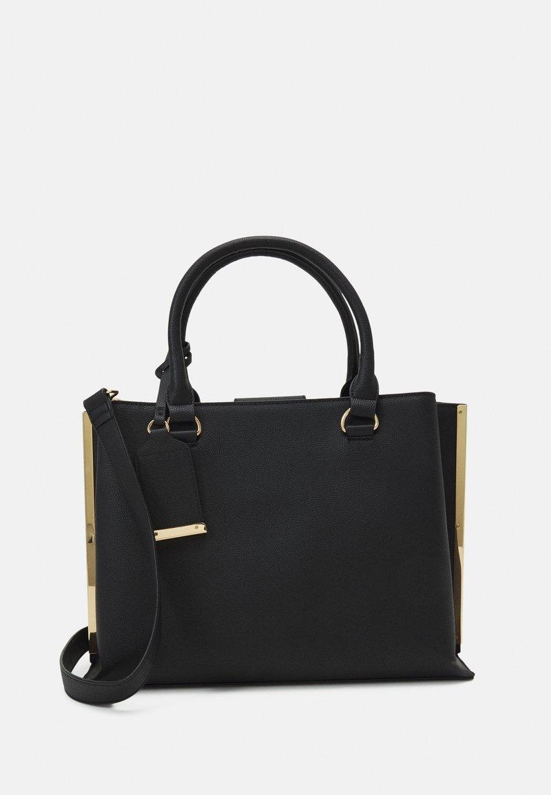 Dorothy Perkins - SIDE BAR TOTE - Handbag - black