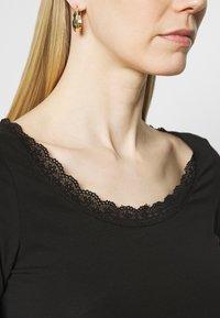 Anna Field - Maglietta a manica lunga - black - 3