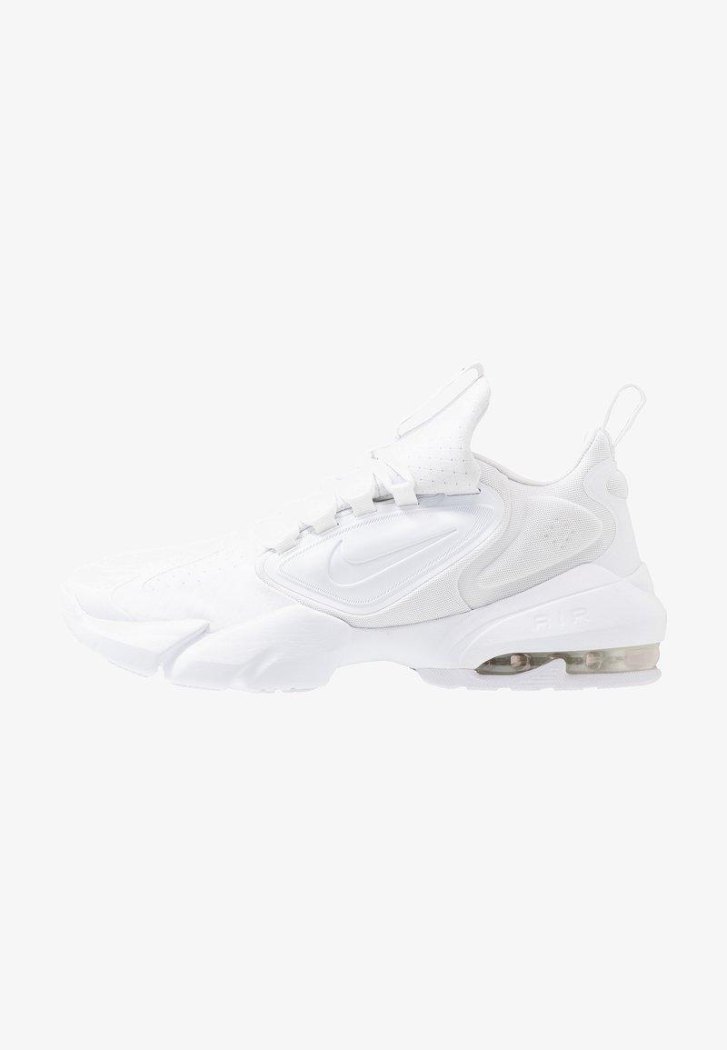 Nike Performance - AIR MAX ALPHA SAVAGE - Sports shoes - white/black