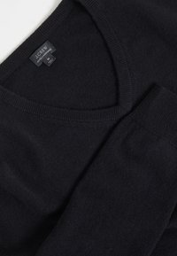 J.CREW - SOLID EVERYDAY CASH - Jumper - black - 4