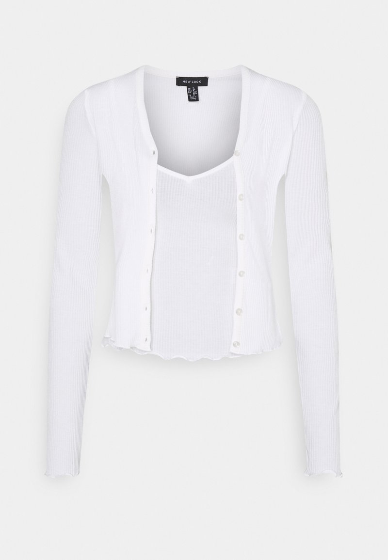 New Look - TWIN CARDI SET - Vest - off white