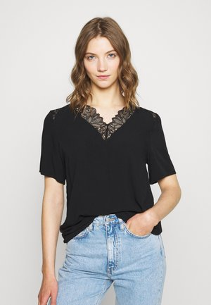 OBJBEA NEW TALL - Bluse - black
