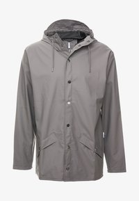 Rains - UNISEX JACKET - Impermeabile - charcoal - 4