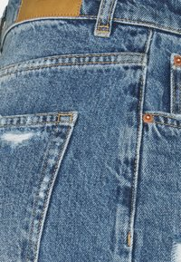 Gina Tricot - 90S HIGH WAIST - Jeans relaxed fit - midnight destroy - 2
