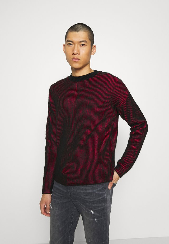 CREW NECK - Jumper - red