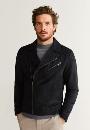 PERSUEDE - Faux leather jacket - black