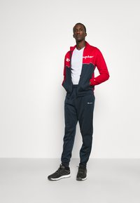 Champion - TRACKSUIT - Tracksuit - red/navy/white - 1