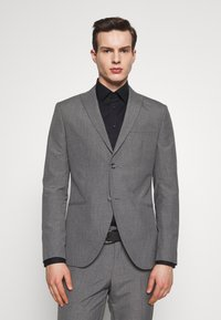 Isaac Dewhirst - RECYCLED MID TEXTURE - Oblek - grey - 2