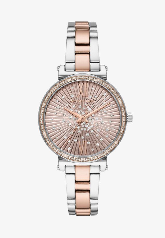 SOFIE - Horloge - roségold-coloured/silver-coloured